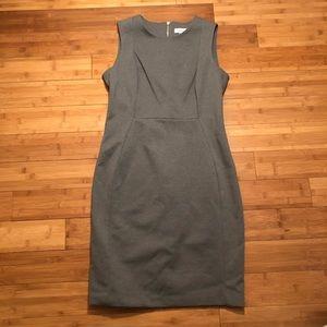 Size 12 Gray Calvin Klein Dress